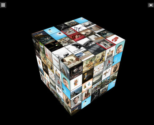 Cube 3D Gallery