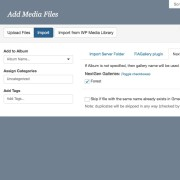 Gmedia Import Files