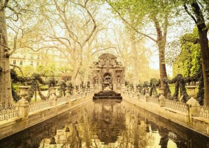 Paris - Medici Fountain - Luxembourg Garden
