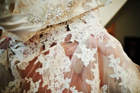 A Grin Through Lace