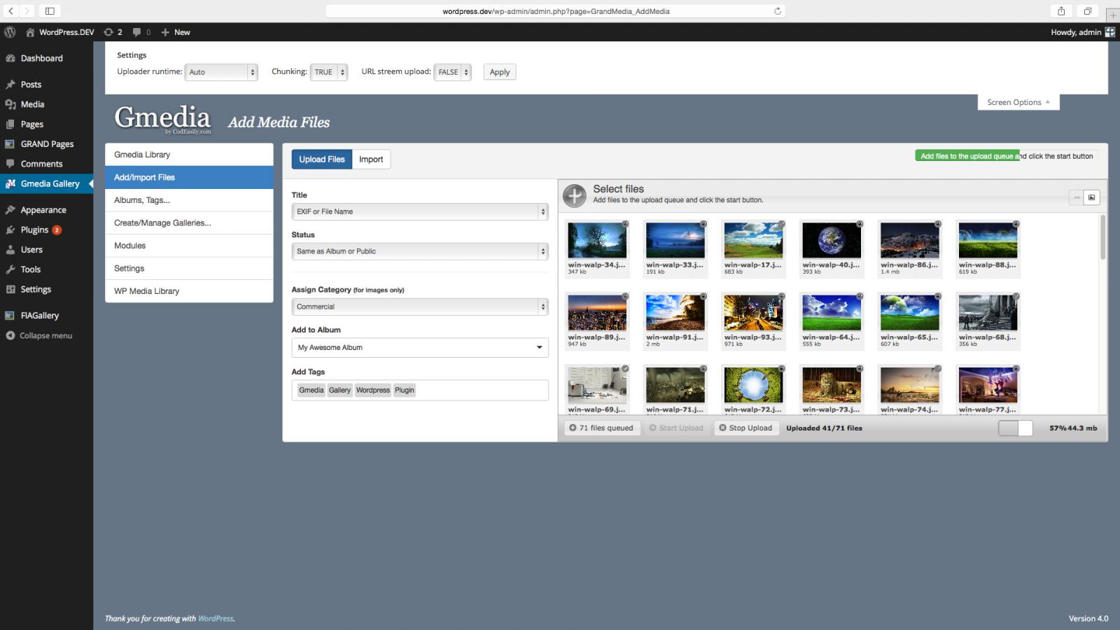 Gmedia Screenshot1