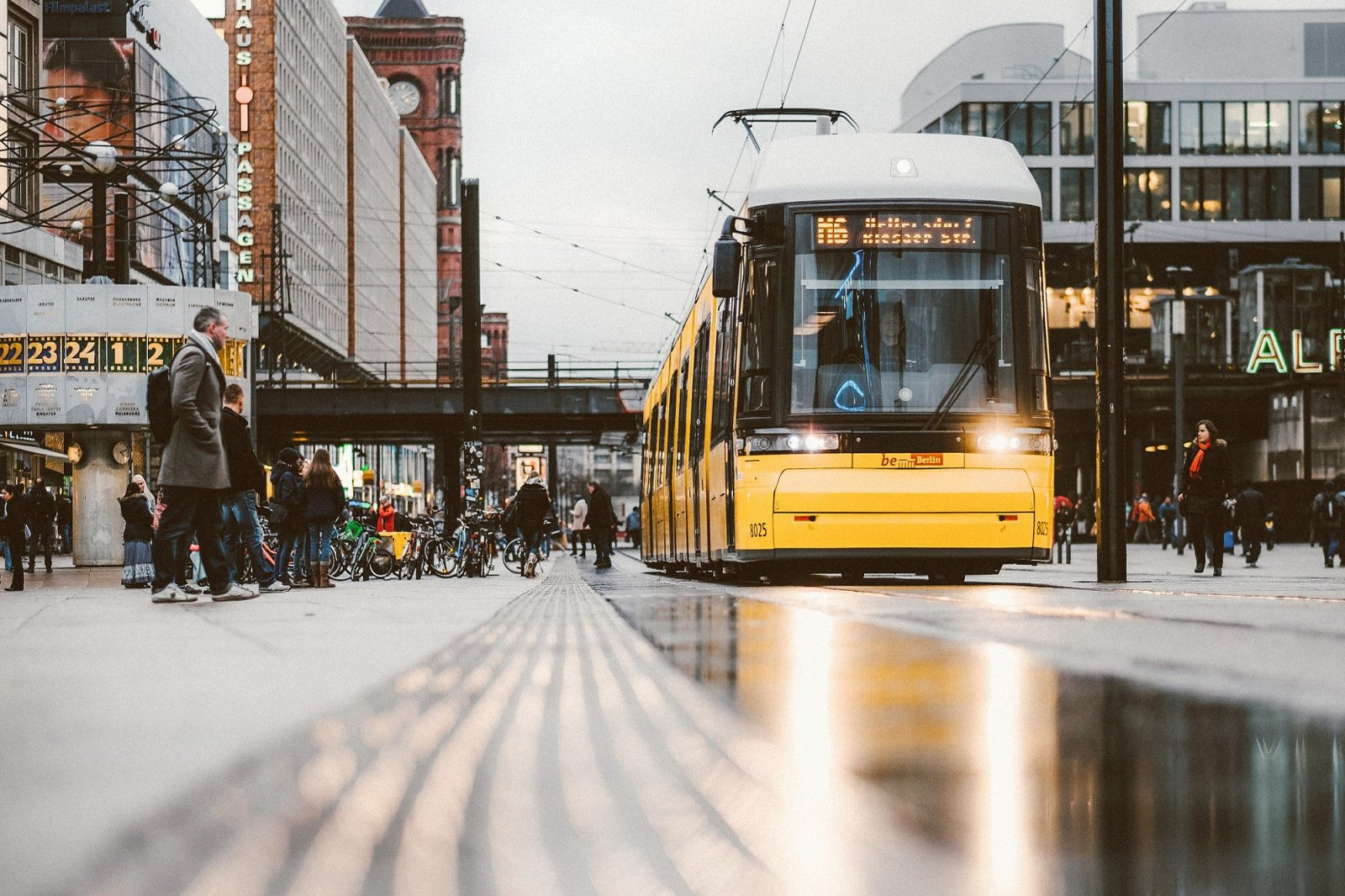 Trams in Berlin
