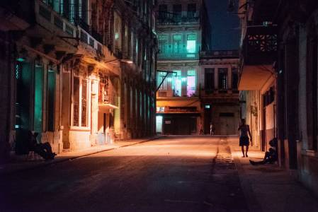 Old Havana at Night