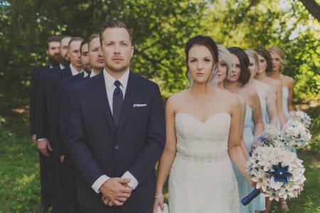 Scott and Tonaya's Bridal Party