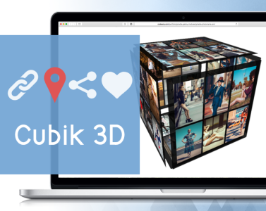 Cubik - 3D Cube Gallery